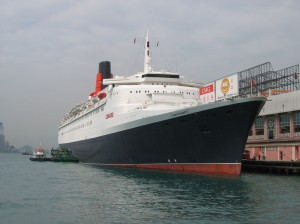 This is the last time she was docked at this Hong Kong Terminal.